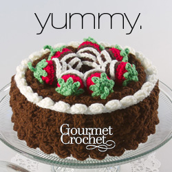 Gourmet Crochet - Yummy - Chocolate Sweets and Treats crochet pattern