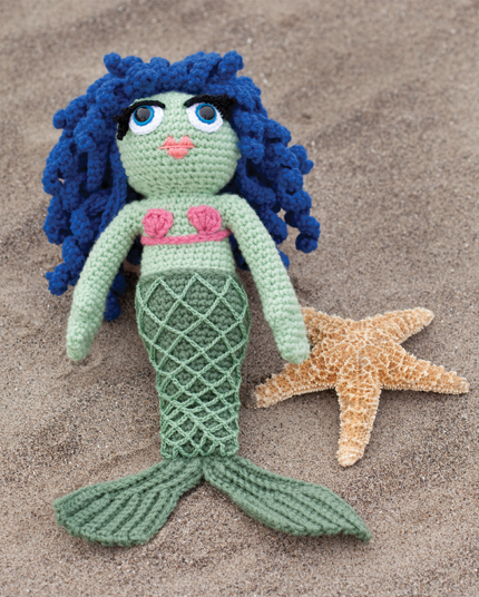 Crochet Patterns Mermaid : Mermaid Houseguest by Brenda Anderson for Crochet Today.