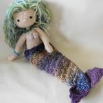 My Little Crocheted Doll--Mermaid