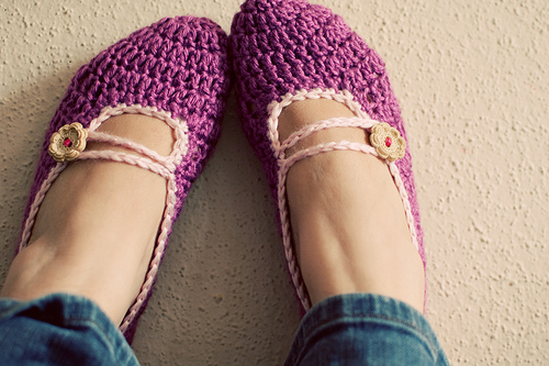 A Passion for Purple-10 Free Crochet Patterns! - Pink Mambo