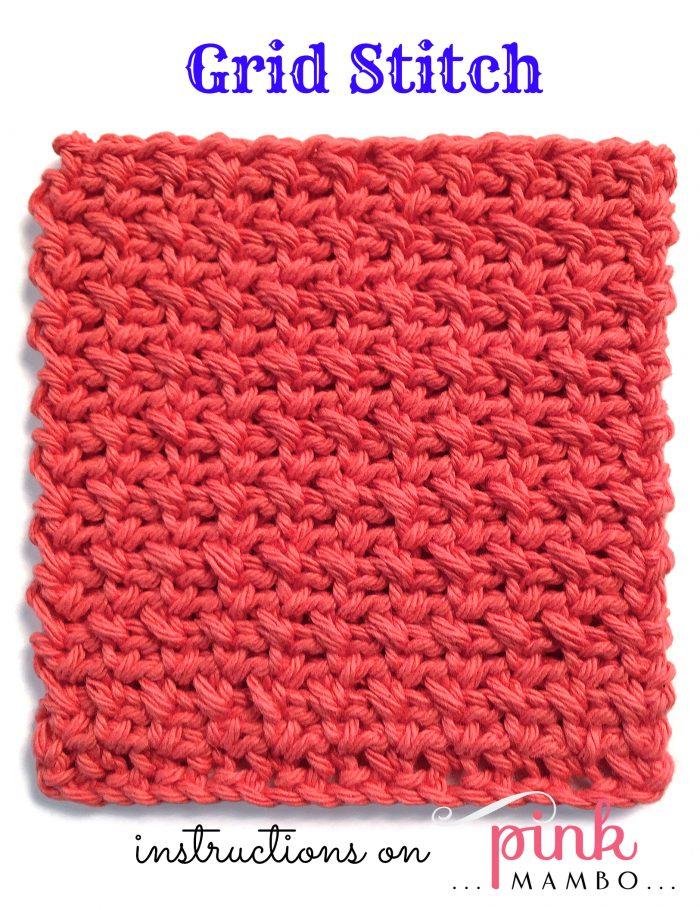 Grid Stitch Pattern