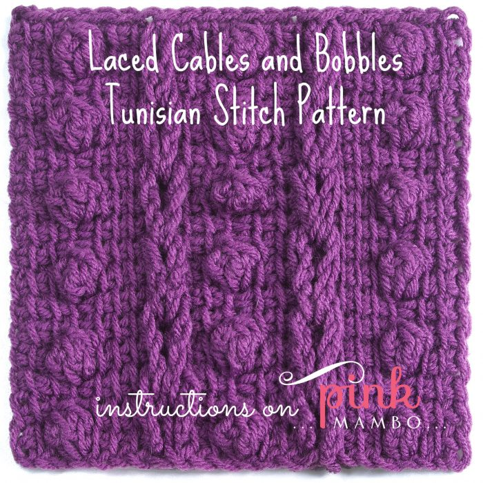 Laced Cables and Bobbles