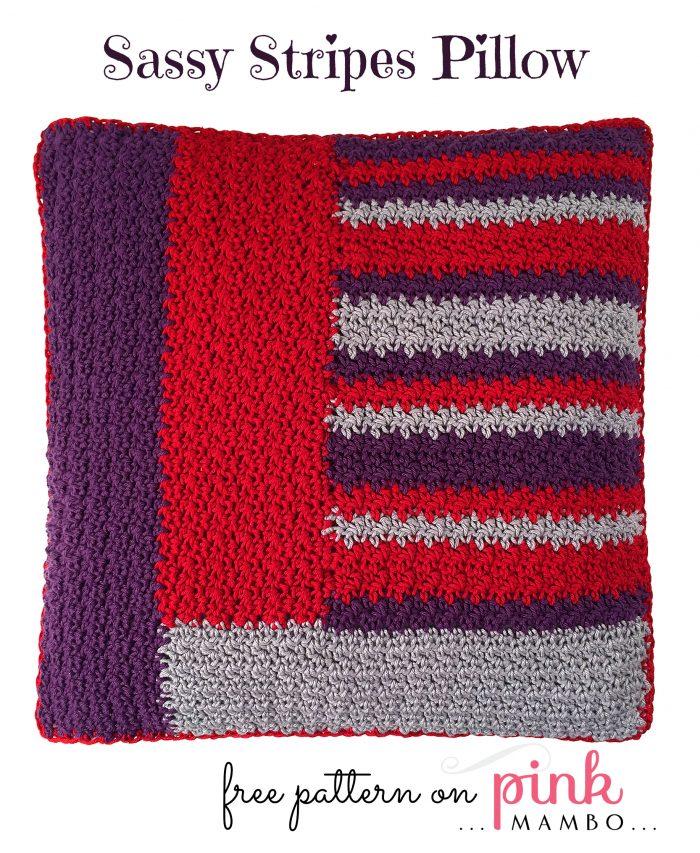 Sassy Stripes Pillow