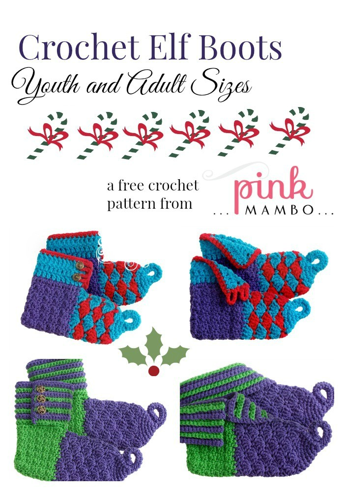 Crochet Elf Coots youth and adult