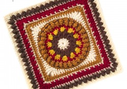 Crochet Felicity 12″ Square