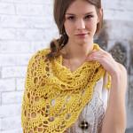 Yes yes shawl by Bernat Design Studio