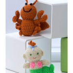 Crochet Little Lobster and Baby Mermaid