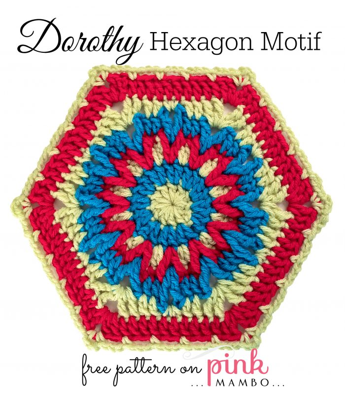 Dorothy Hexagon Motif