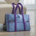 Eight Pocket Two Tone Carryall