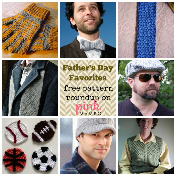 Father's Day Favorites - free crochet pattern roundup