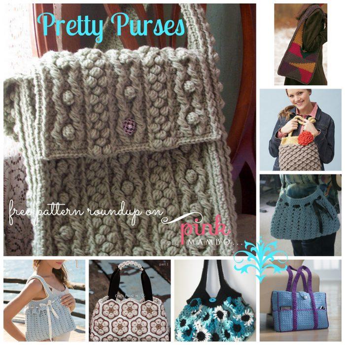Pretty Purses Collage