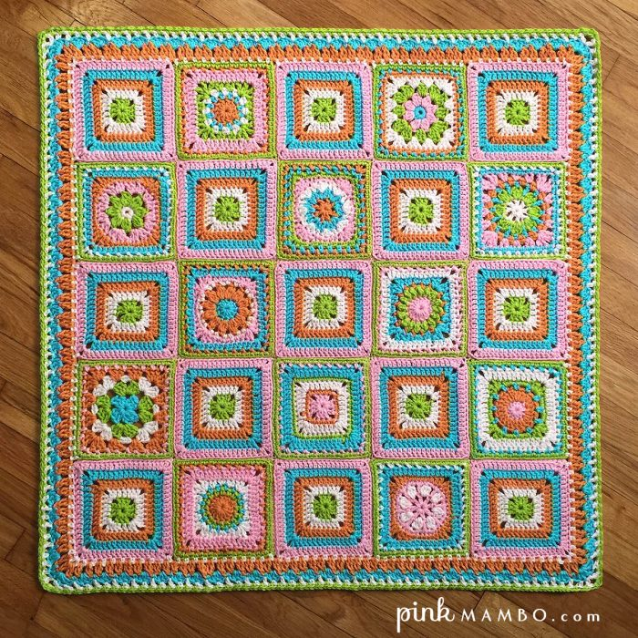 Cheerful Child Blanket Crochet Along is Here! First Three